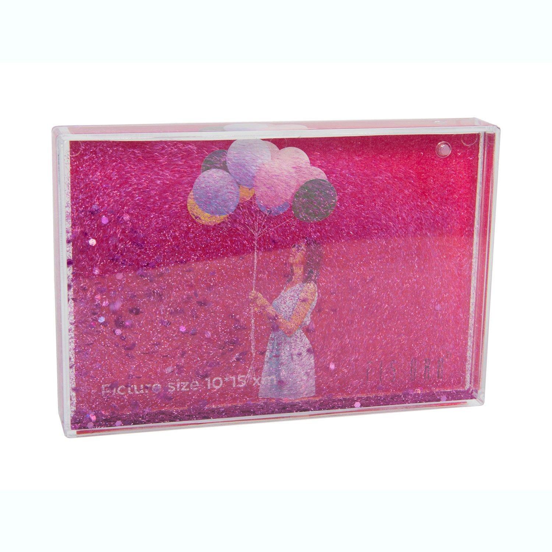 FISURA Rosa Glitter Fotorahmen: Amazon.de: Spielzeug