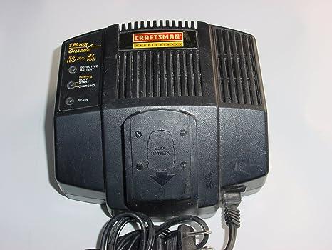Amazon.com: Craftsman 315.110400 - Cargador de batería ...