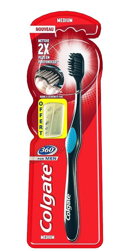 Colgate oral care 360 – Cepillo de dientes para hombre, ...