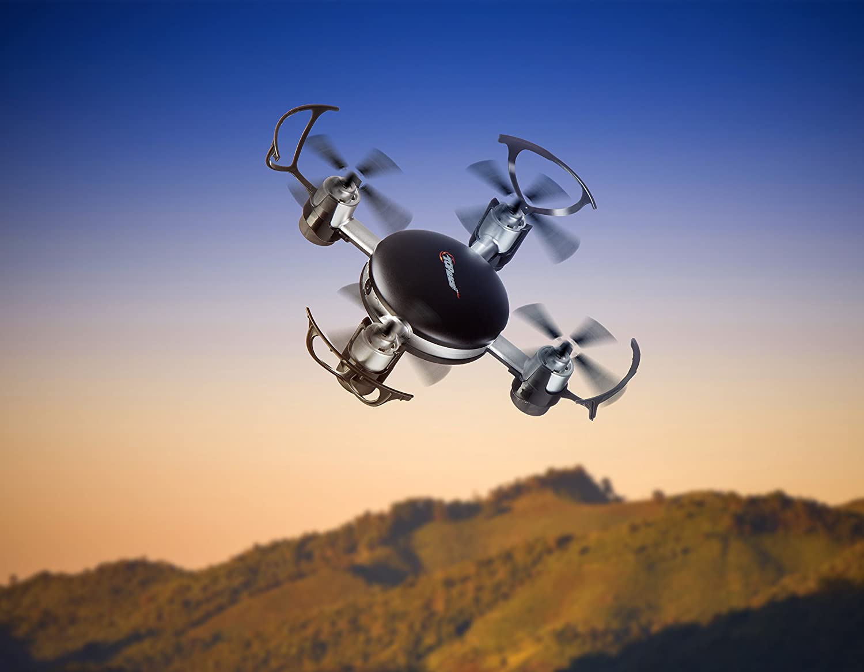 Top Race Mini Drone con la cámara de Espionaje, 2,4 GHz de Control ...