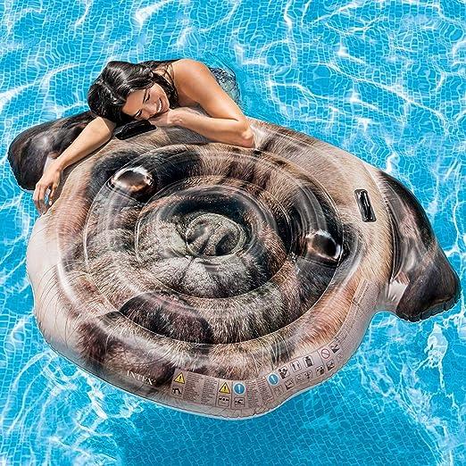 Cisne 2013, S.L. Colchoneta Hinchable para Piscina diseño Perro ...