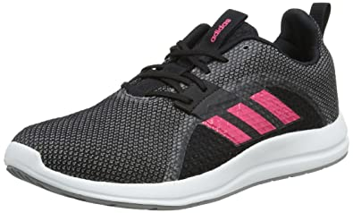 huge selection of 8e879 ee043 adidas Women s Element V Training Shoes, (Core Black Real Pink Grey Three