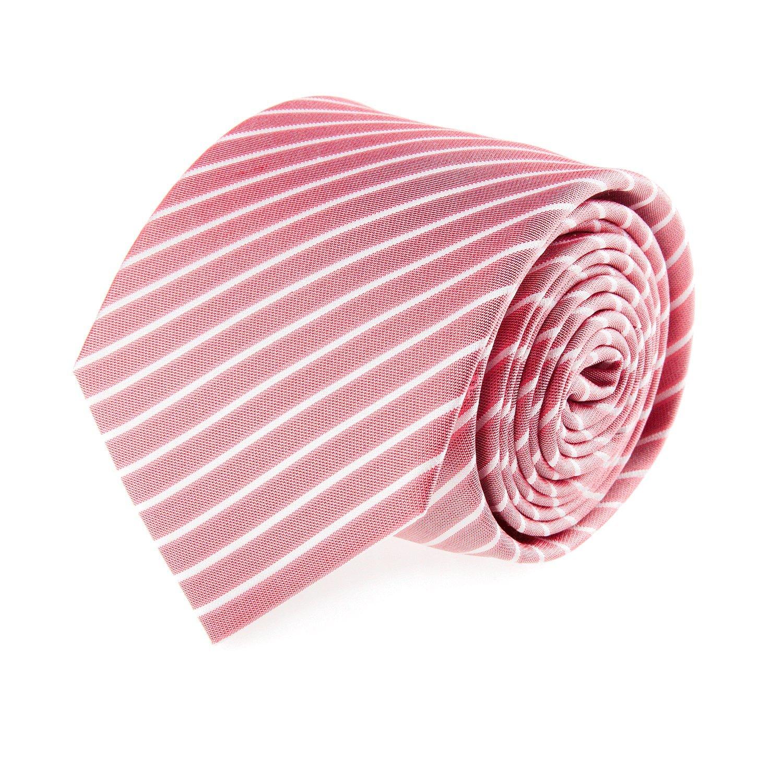 OTTO KERN seda corbata roja de rayas 7 cm: Amazon.es: Ropa y ...