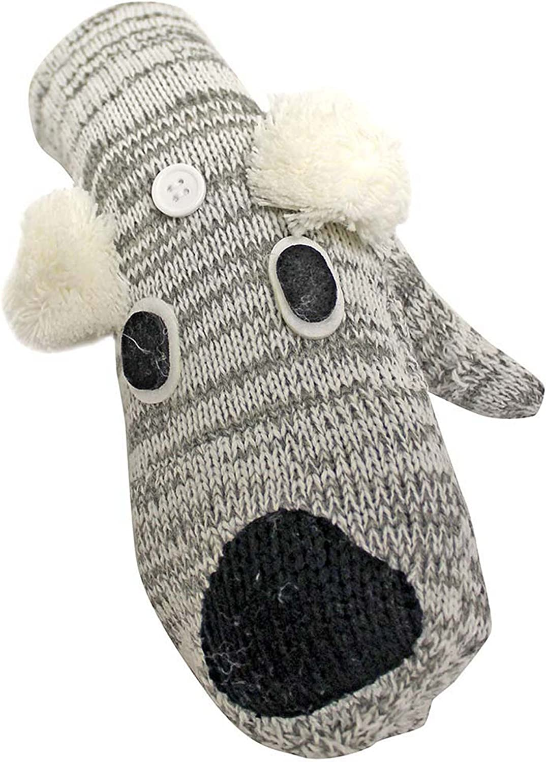 Animal Face Character Knit...
