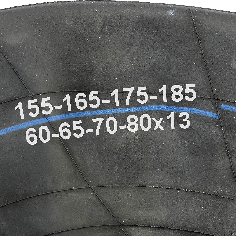 Remorque 33/cm Pneu Chambre /à air 33/cm 155/x 13/165/x 13/175/x 13/185/x 13/60//65//70//80/Profil droite Valve Remorque