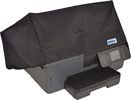Black Nylon Anti-Static Dust Cover Dimensions 17.52W x 14.45D x 7.52H Comp Bind Technology Dust Cover for HP OfficeJet 5255 All-In-One Printer