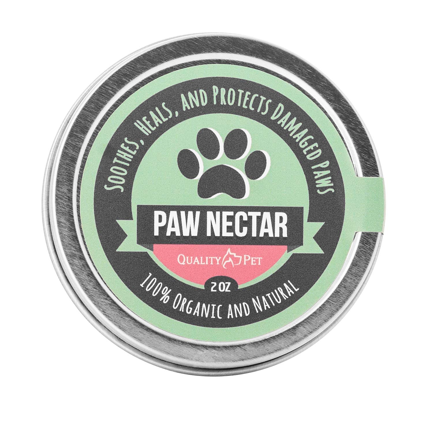 100% Organic and Natural Paw Wax Heals and Repairs Damaged Dog Paws by Paw Nectar
