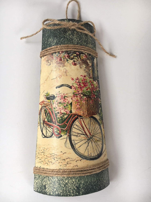 teja decorativa con adorno de bicicleta vintage: Amazon.es: Handmade