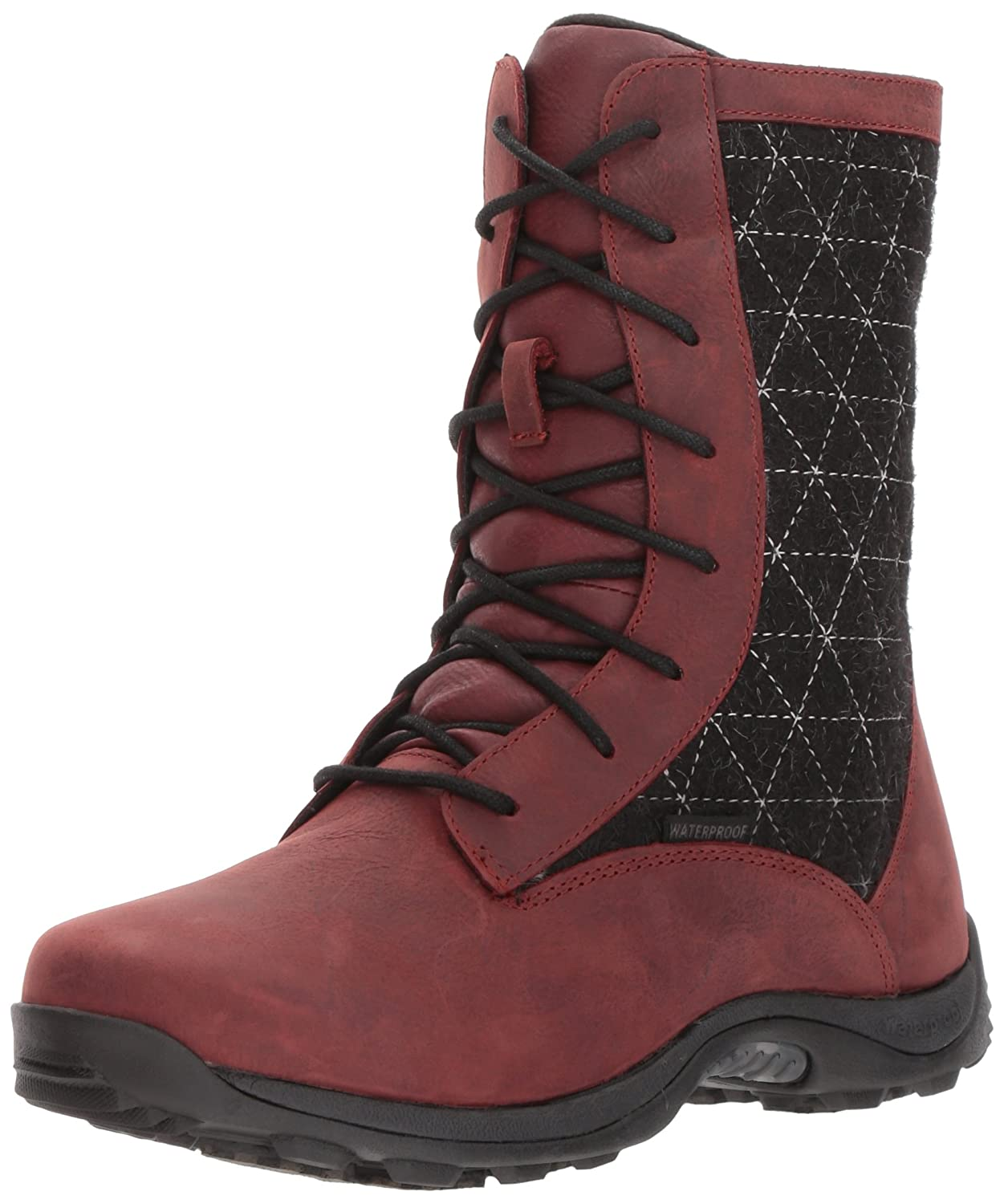Baffin Womens Women's Alpine B01N6ZMUDP 6 B(M) US|Dark Red