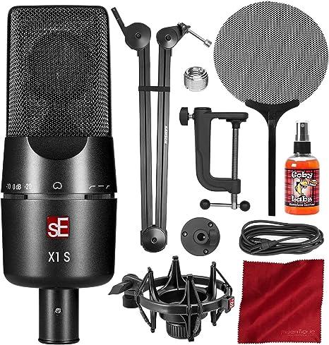 sE Electronics X1 S Vocal Pack Micrófono de condensador cardioide ...