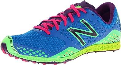702567c8f8a93 New Balance Women's WXCR900 Rubber Spike Cross-Country Shoe,Blue/Yellow,5