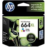 HP Numero 664XL Cartucho de Tinta, Tricolor