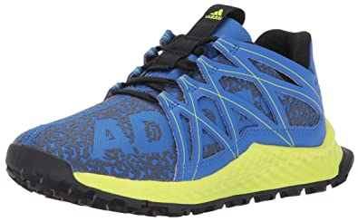 adidas Performance Boys' Vigor Bounce j Running-Shoes, Blue/Grey/Semi