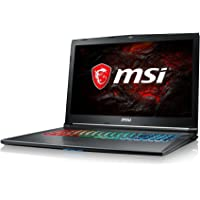 "MSI GF72 8RE-062XES - Ordenador portátil de 17.3"" Full HD 120Hz (Intel Core i7-8750H, 16GB RAM, 1TB HDD + 256GB SSD, Nvidia GeForce GTX 1060 6GB, Sin Sistema op.) Gris - QWERTY Español"