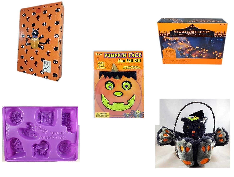 Halloween divertido regalo Bundle [5 piezas] diseño de gato ...