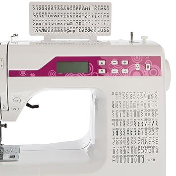 LEVIVO Máquina de Coser de Brazo Libre NC1, Aluminium, Blanco, 46x25.5x34.5 cm: Amazon.es: Hogar