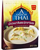 A Taste of Thai Coconut Ginger Soup Base, 2.1 Ounce Box (Pack of 6)