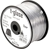 LulzBot Taulman T-Glase PET 3D Printer Filament, 1 lb. Reel, 3 mm, Clear