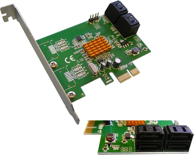 Kalea Informatique - Tarjeta controladora PCI Express (PCI-E) (4 ...