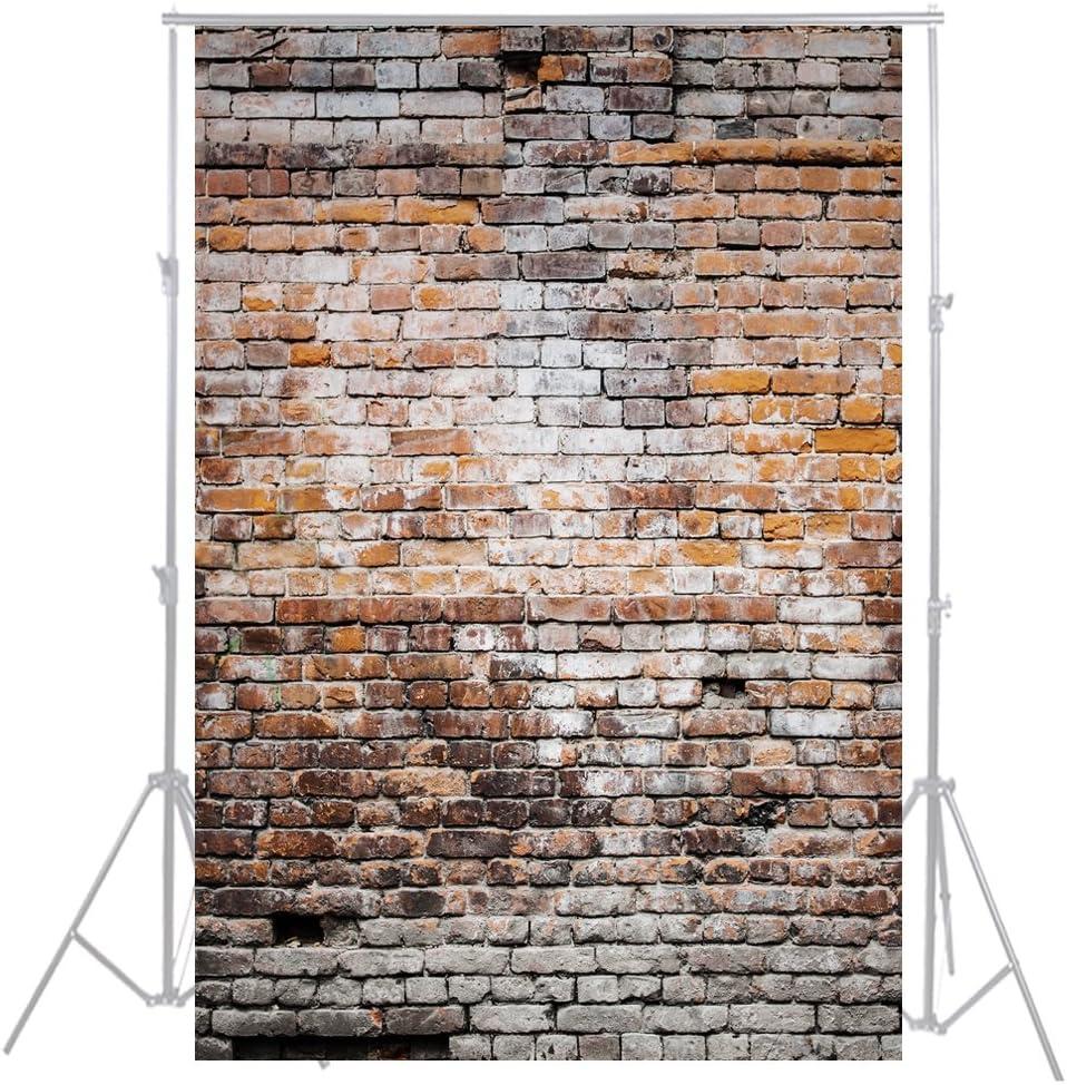 Hua 3/x 5ft ladrillo pared Fondos Photography reci/én nacido tel/ón de fondo Photo Studio Fotograf/ía Props d-3489