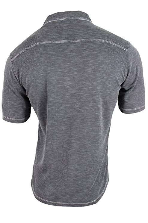 Tommy Bahama Mens Onyx Grey Slub Polo Shirt, M: Amazon.es: Ropa y ...