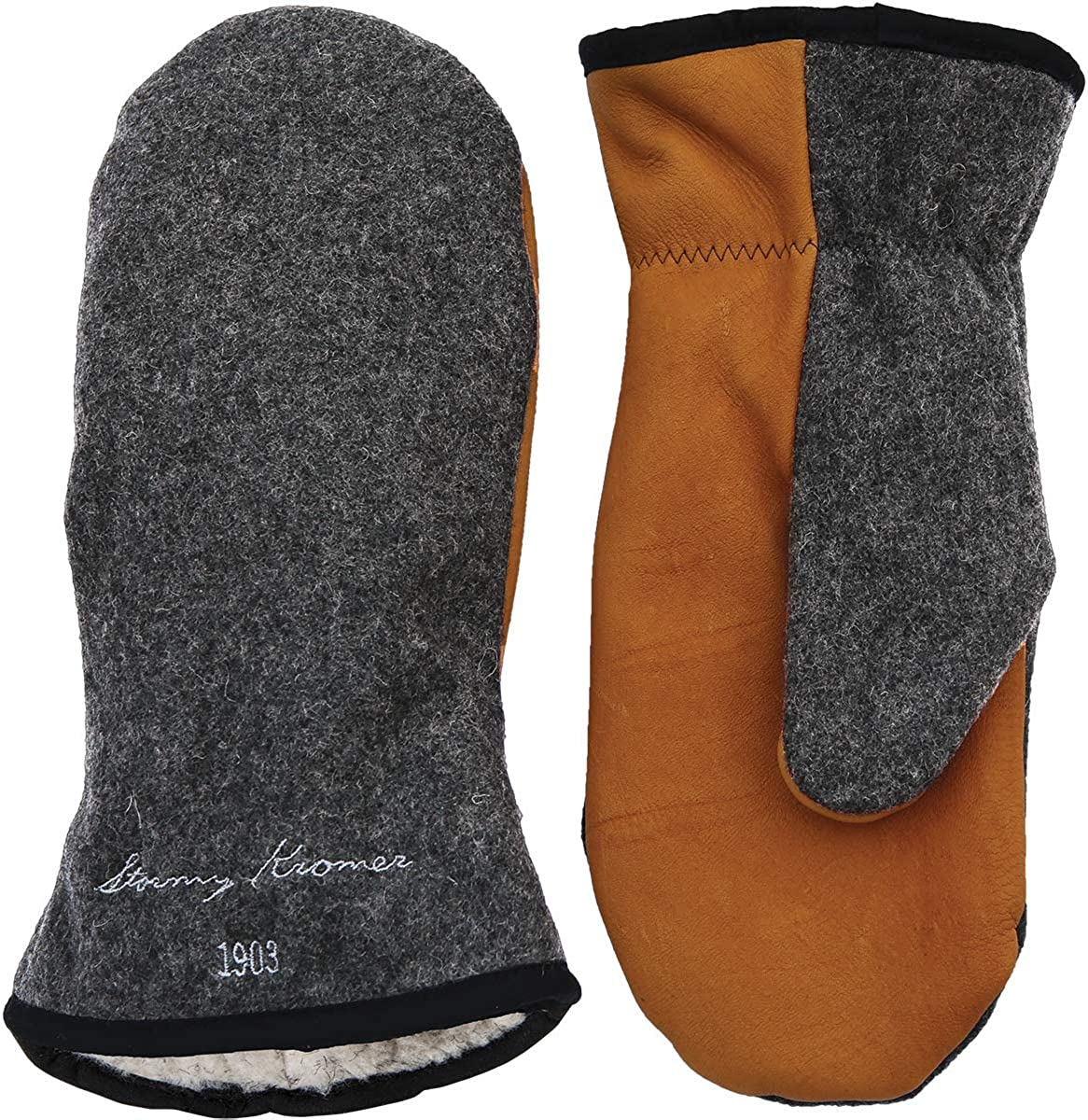 Stormy Kromer Tough Mitts - Wool Winter Gloves at  Women's Clothing store