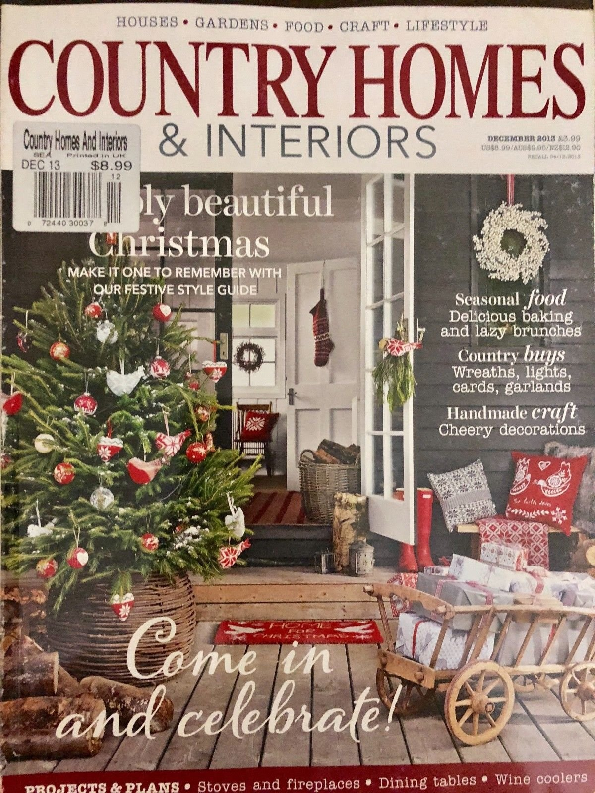 COUNTRY HOMES & INTERIORS, DECEMBER 2015**