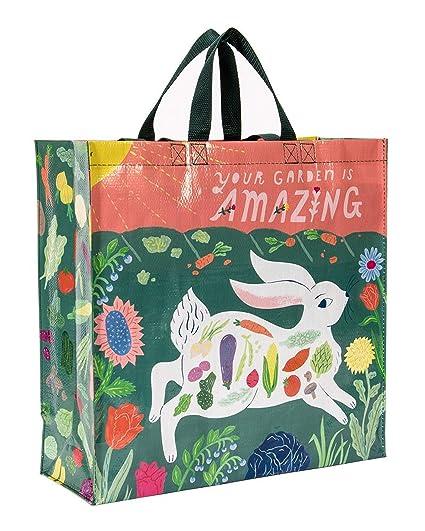 Amazon.com: Blue Q Bolsas, Bolsa de la compra: Arte ...