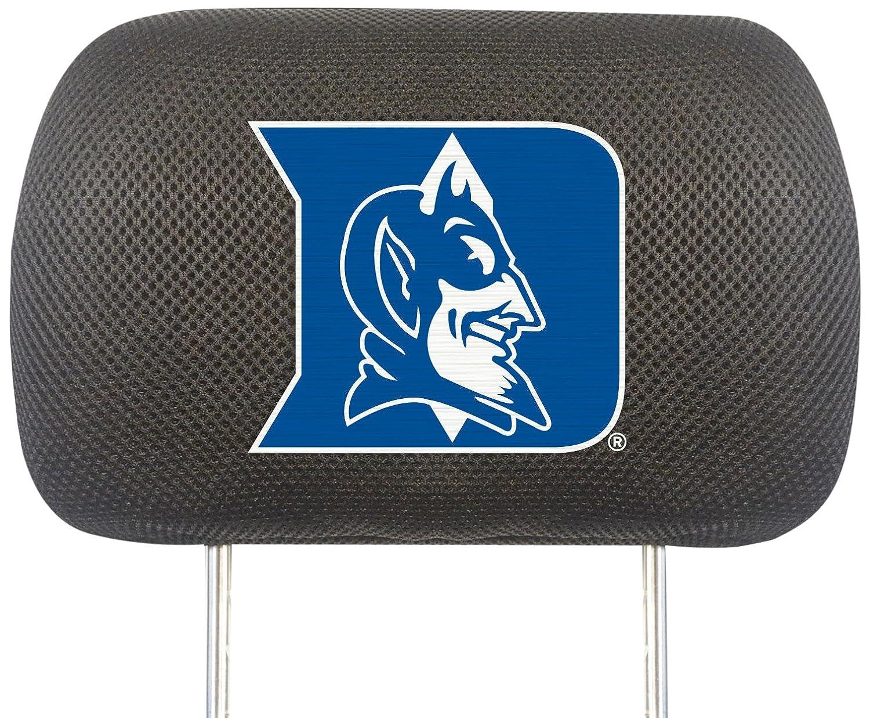 FANMATS  12564  NCAA Duke University Blue Devils Polyester Head Rest Cover