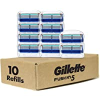 Gillette Fusion Manual Men's Razor Blade Refills - 10 Count