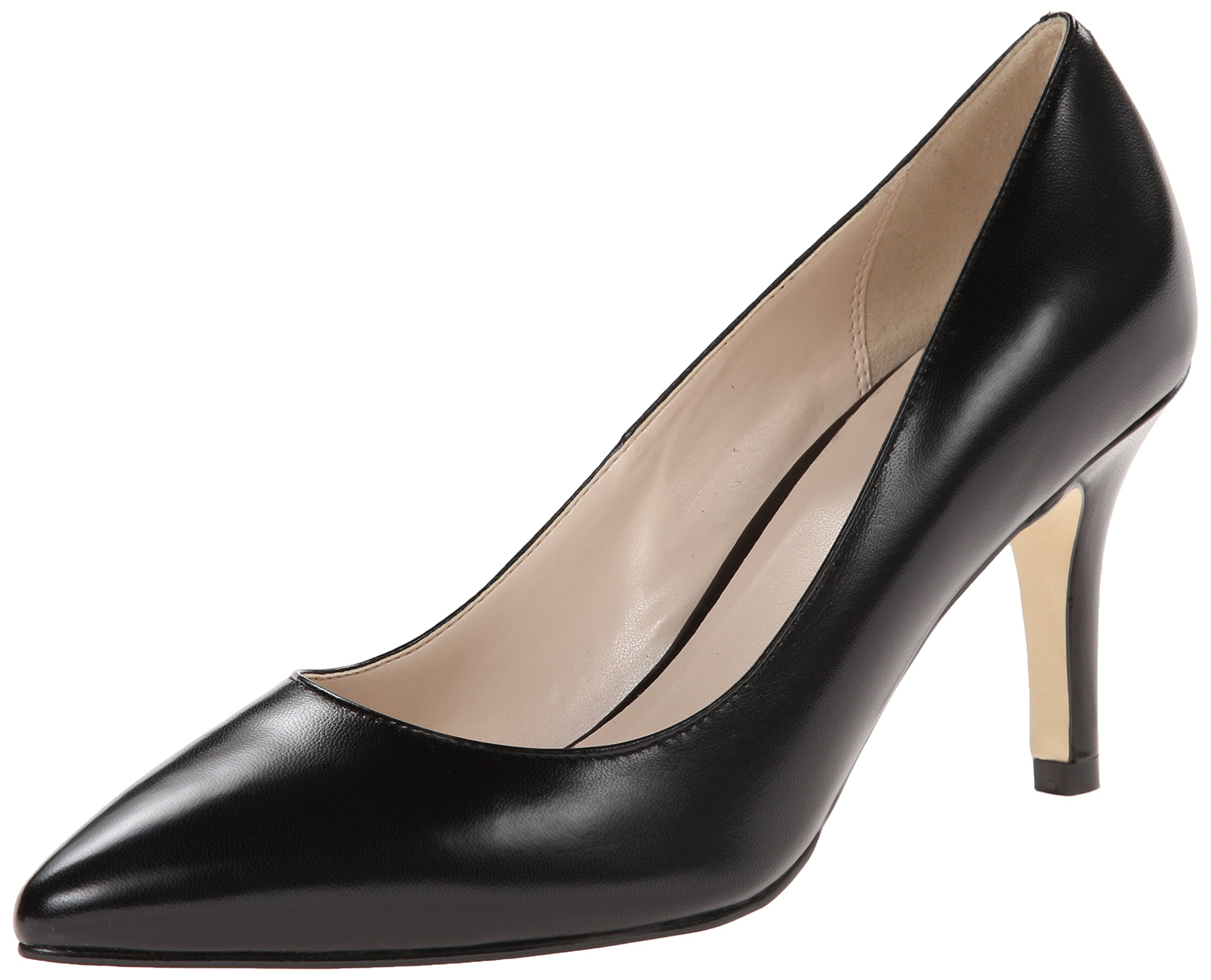 Cole Haan Women's Juliana Pump 75,Black Leather,8.5  B US by Cole Haan (Image #1)