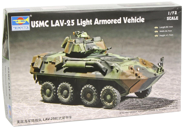 Amazon.com: Trumpeter 1/72 USMC LAV 25 8 X 8 Light Armored Vehicle: Toys U0026  Games