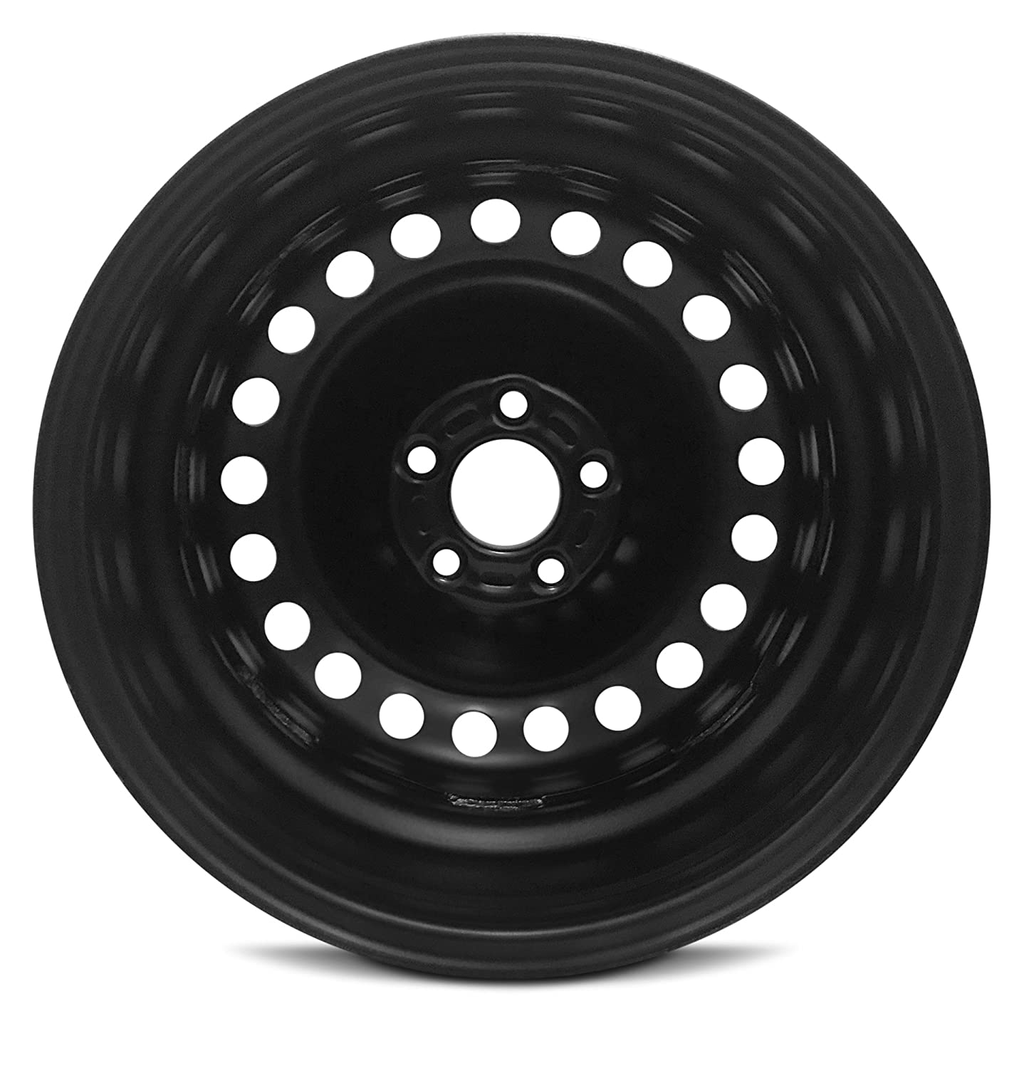 Road Ready Car Wheel For 2014-2018 Ford Transit Connect 16 Inch 5 Lug Black Steel Rim Fits R16 Tire Exact OEM Replacement Full-Size Spare