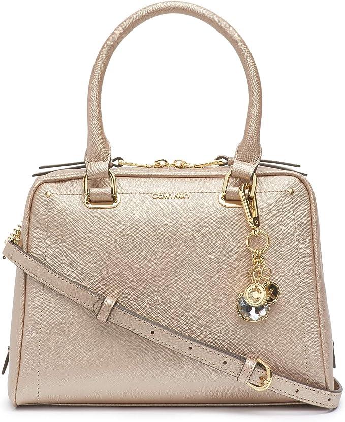 Calvin Klein 卡尔文克莱因 Marybelle CK 女式手提包 2.5折$56.93 两色可选 海淘转运到手约¥453