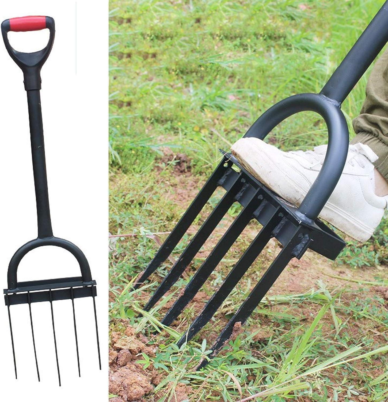 ZHIZI Herramientas manuales Cultivador agrícola, escarificador artificial, huerto, huerto, invernadero, herramienta de labranza de ahorro de mano de obra for el giro del suelo
