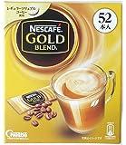 #590826 ネスカフェ レギュラーソリュブルコーヒー ゴールドブレンドスティックコーヒー 6.6g×52本(343.2g)
