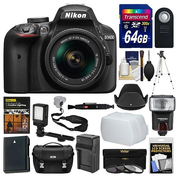 Review Nikon D3400 Digital SLR