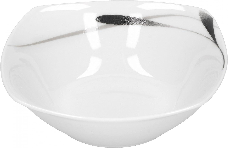 C/ér/éales en Porcelaine Saladier Lima 14,2/cm Blanc avec D/écor