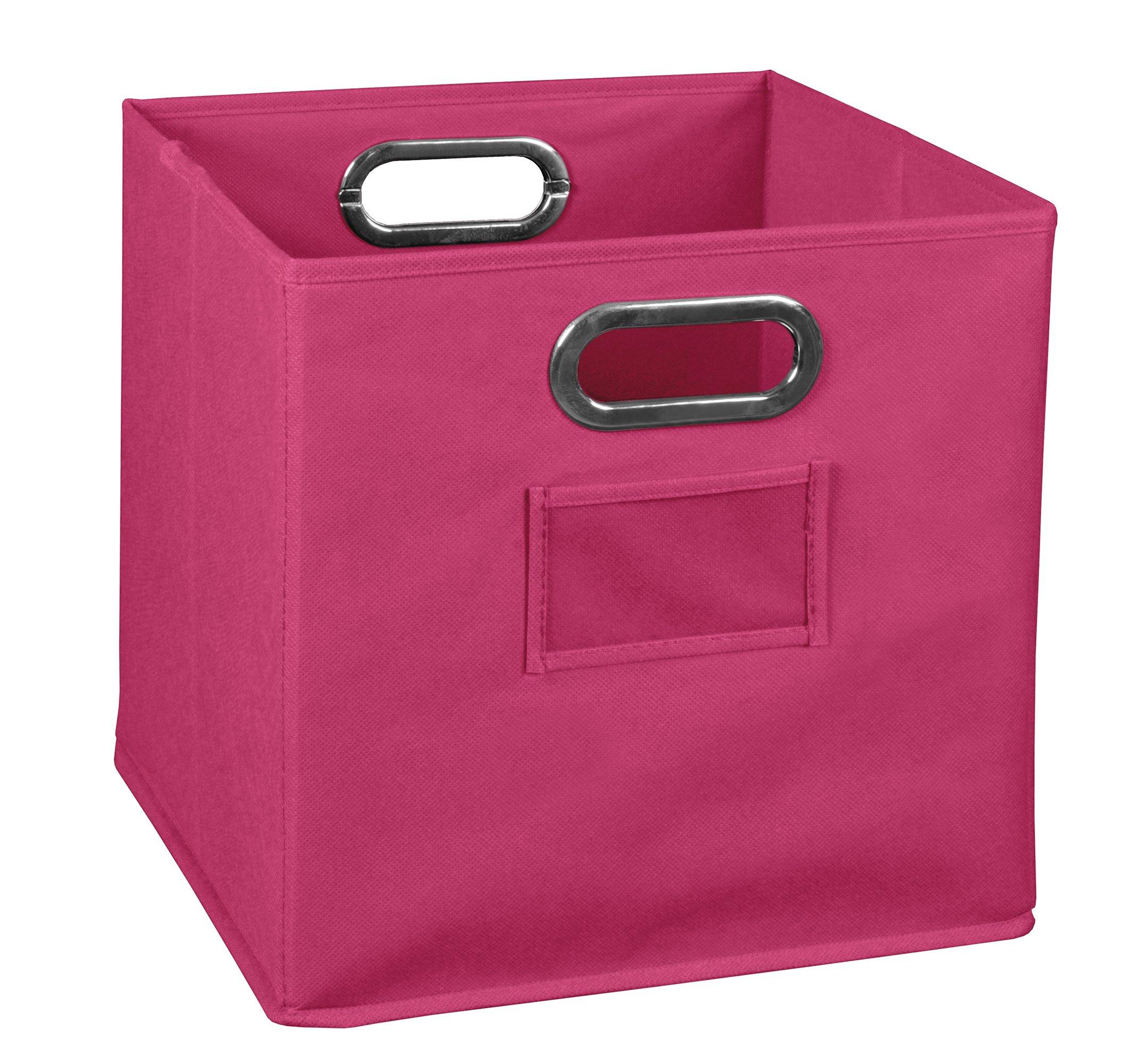 Niche Cubo Foldable Fabric Bin- Pink