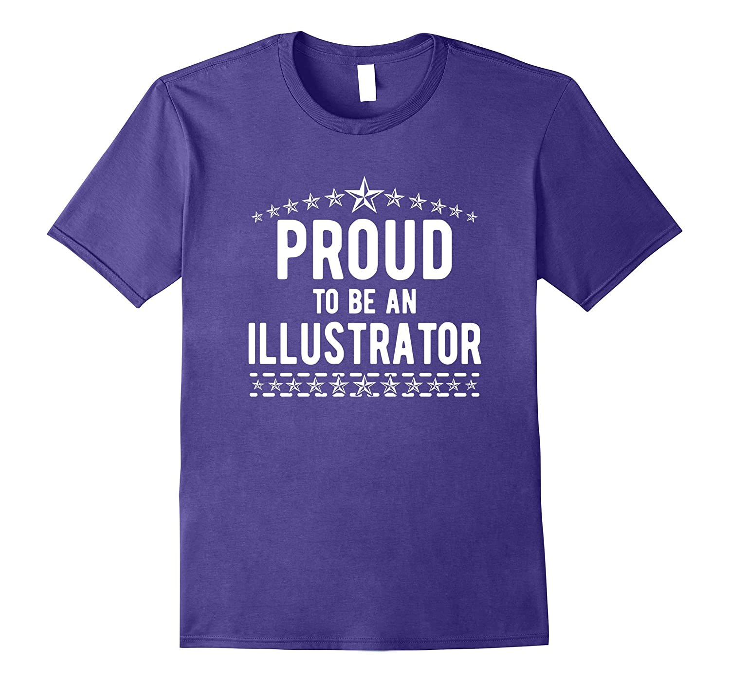 The Official Proud to Be An Illustrator T-Shirt-TJ
