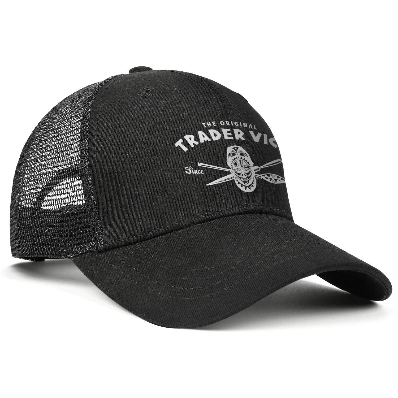 ChenBG Unisex Trader Vics-Logos Adjustble Baseball Cap Gas Cap All Cotton Cowboy Hat