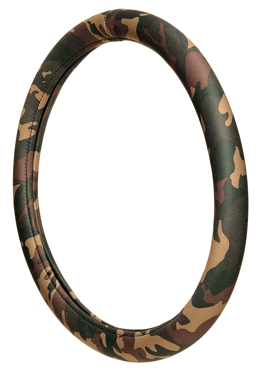 ALLISON 95-0382 Green Camo Steering Wheel Cover