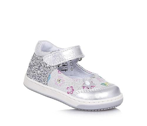 Balocchi - Mocasines para niña plateado Size: 22: Amazon.es: Zapatos y complementos