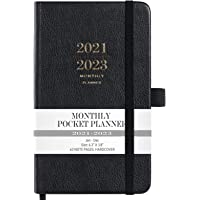 """2021-2023 Monthly Pocket Planner - Three Year Pocket Monthly Calendar, 36 - Month Planner with Pen Hold, 6.3"""" × 3.8…"""