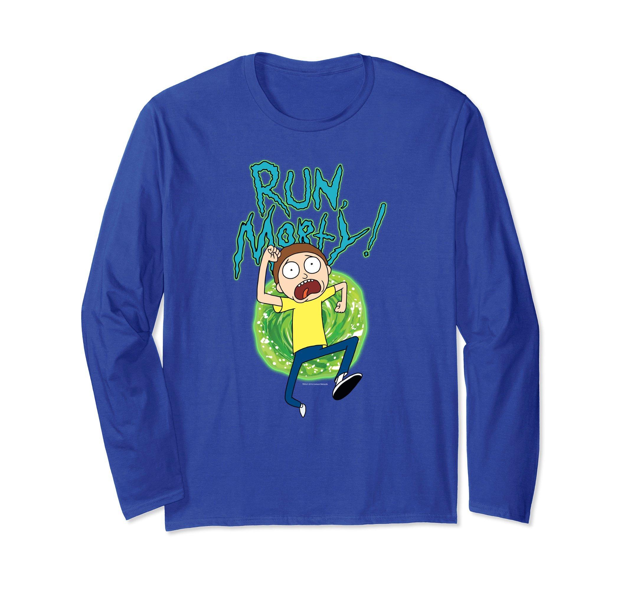 Rick Morty Run Morty Shirts