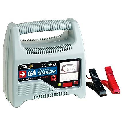 SUMEX 3505126 Cargador de baterías, 6 AMP, 12V
