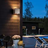 """LED Exterior Wall Lamp,4.7"""" Adjustable Outdoor"""