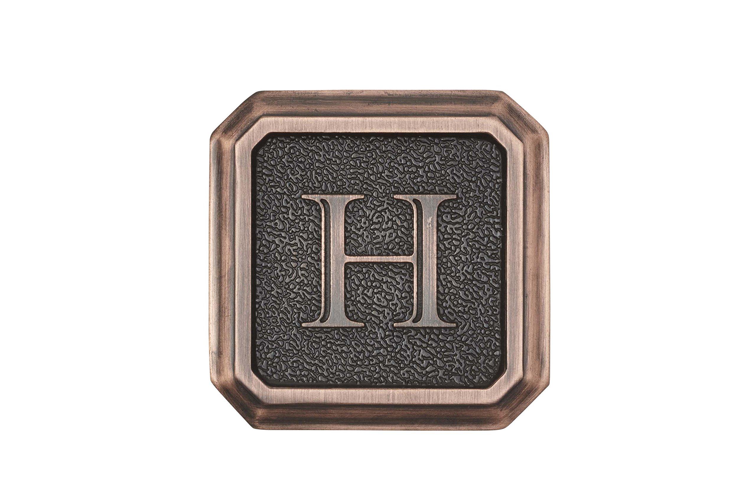 Architectural Mailboxes 3650ORB-H Aluminum Oil Rubbed Bronze Monogram - Letter''H''