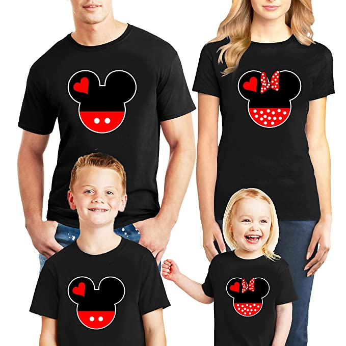 76ec0c49 Natural Underwear Family Trip #7 Head and Ears 2019 T-Shirts Trip Mouse Kids