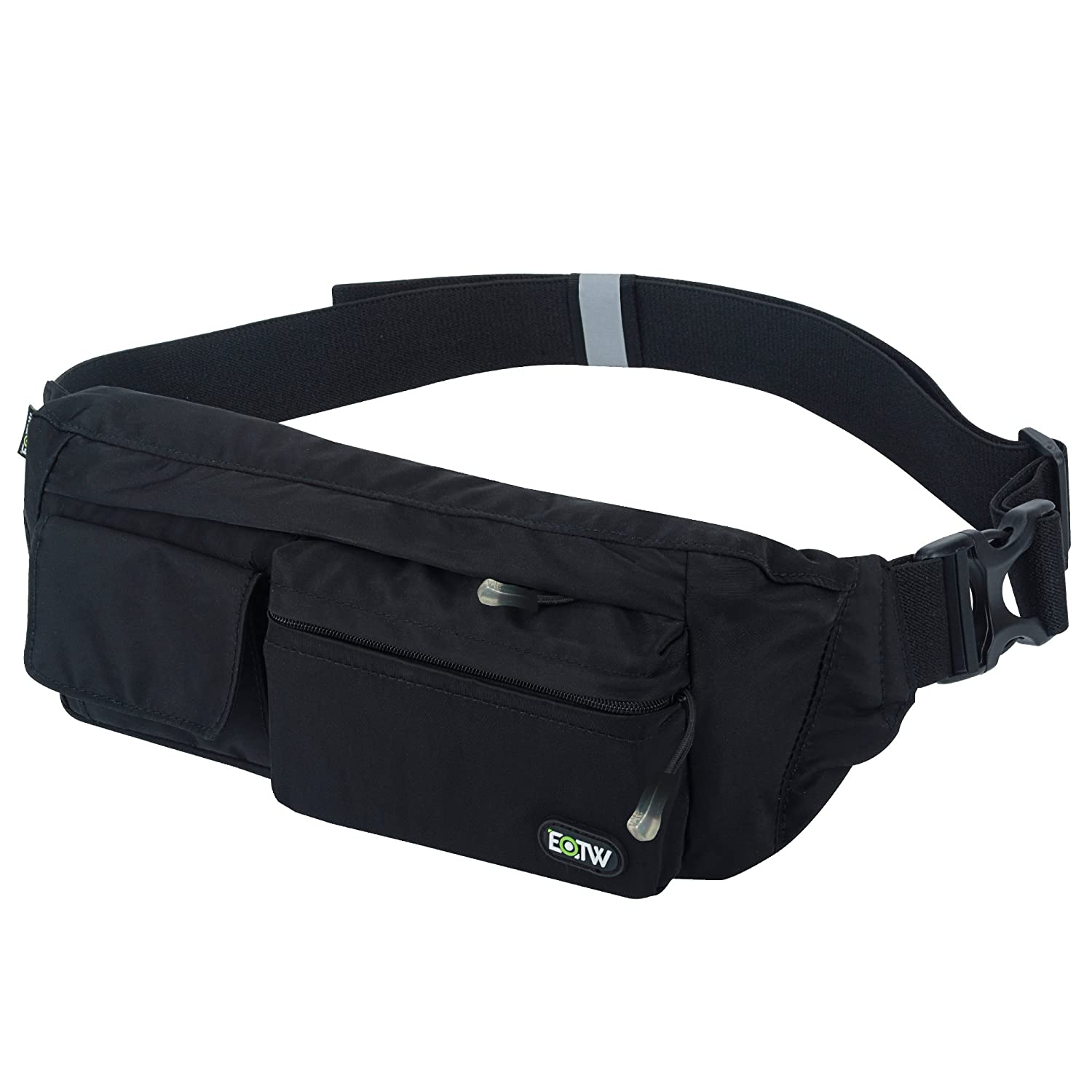 EOTW Fanny Pack Waist Bag Travel Pocket Sling Chest Shoulder Bag Phone  Holder Running Belt with Separate Pockets eb5a6a0f9031
